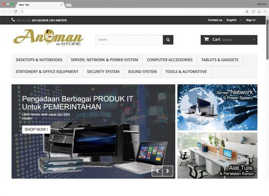 Anoman e-Store